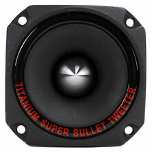 "New Pyramid TW44 1"" 300 Watt Heavy Duty Titanium Dome Bullet Car Super Tweeter"