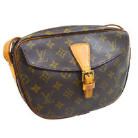 LOUIS VUITTON JEUNE FILLE MM CROSS BODY BAG PURSE MONOGRAM CANVAS M51226 31220