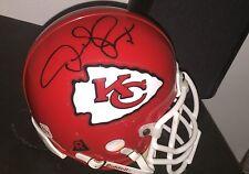 Derrick Thomas Kansas City Chiefs Hofer Hand Signed Mini Helmet In A Case w/COA