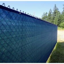 ALEKO Fence Privacy Screen With Grommets Outdoor Windscreen 5 x 50 Ft Blue