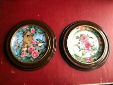 2 Franklin Mint Collector Plates