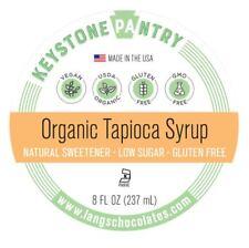 Organic Tapioca Syrup 8 oz Bottle
