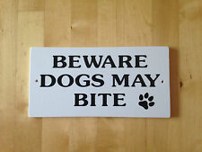 Unbranded Non Breed Specific Dog Signs & Plaques
