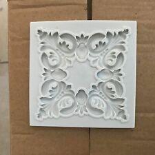 Vintage Frame Relief Lace Silicone Fondant Mould Cake Decor Craft Border Mold 3D