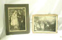 "2 Vintage 1920s Slovakian Wedding Photos 7"" X 5"""