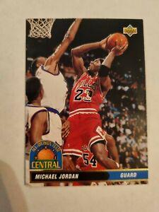 Michael Jordan #43 Carte NBA Upper Deck 92/93