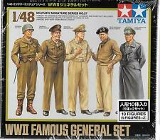 Tamiya WWII Famous General Set in 1/48 32557 ST