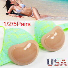 Removable Bikini Bra Insert Silicone Triangle Pads Enhancer Swimsuit Push-up USA