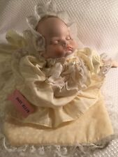 Vintage Nursery Musical Porcelain Baby Girl Doll Moveable Head BABY ELLIE Sweet