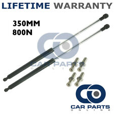 2X Muelles de gas puntales Universal Kit de coche o de conversión 350 mm 35 cm 800N & 4 Pines