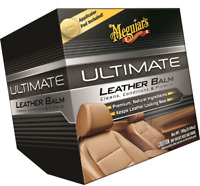 Meguiars Baume Cuir Ultime + Tampon Applicateur Rénovateur