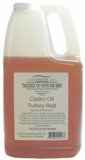 Castor Oil Turkey Red, Soap making supplies DIY. 7 pound Gallon