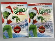How the Grinch Stole Christmas Blu-ray w/Slipcover New Grinchmas Edition