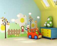 Wandtattoo Wandsticker Wandaufkleber Freunde Tiere Giraffe Mädchen 67 x 120 W041