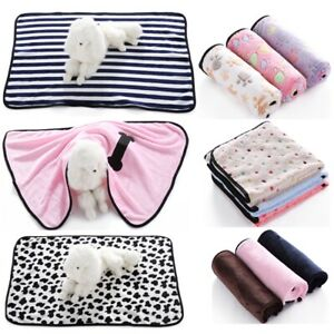 NEW Faux Fur Self Heating Thermal Soft Pet Dog Cat Bed Mat Puppy Cushion Blanket