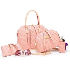 4PCS Luxury Hobo Bag Print Handbag Shoulder Bag Purse Tote New Fashion Women