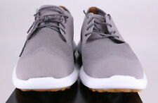 New listing Footjoy Flex LE2 US 9 Gray/ White Spikeless New Men's Golf Shoes