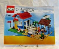#7346 Lego Creator Instruction Booklet (1 Book Only)