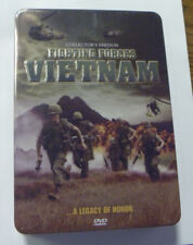 Vietnam Fighting Forces 5 DVD Boxset Legacy of Honor Collector's Tin Case