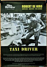 """""""TAXI DRIVER"""" Original Movie Poster Signed by Robert DeNiro"""