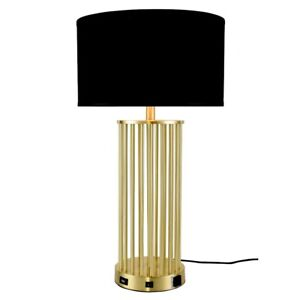 Elegant Décor 3010 Brio 1-Light Brushed Brass Table Lamp - TL3010