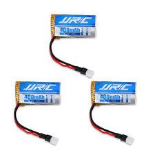 3 Pcs 3.7V 400mAh Lipo Battery for JJRC  H31/H37 RC Quadcopter Drone Spare Parts