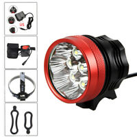 SolarStorm 20000LM 8x XML T6 LED Bike Bicycle Head Lamp Light Headlight Torch