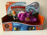NETFLIX Dragons Rescue Riders DAK & BURPLE Figures Sound DREAMWORKS 2020 New