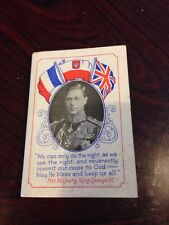 Rare 1940 St Johns Ambulance Wwii Diary With Wartime Speeches