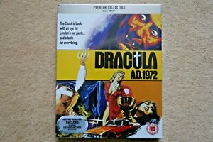BLU-RAY DRACULA AD 1972  PREMIUM EXCLUSIVE EDITION NEW SEALED UK STOCK