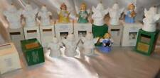 13 Goebel Christmas Angel Bell Annual Holiday Ornament Pieces 1982 to 1998