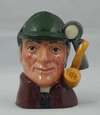 More details for royal doulton character jug – the sleuth d6639 – mini