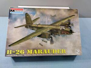 RARE NEW MONOGRAM B-26 MARAUDER PLASTIC MODEL KIT 1:48 SCALE 85-5529