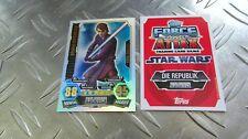 Anakin Skywalker 225 - Force Meister -Clone Wars Serie 3 - Star Wars Force Attax