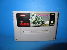 "Super Nintendo SNES ""  Kawasaki Superbikes  ""  Pal Version #"