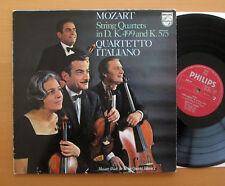 Philips SAL 6500 241 Mozart String Quartet 20 & 21 Quartetto Italiano EXCELLENT