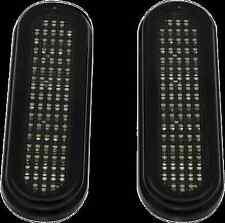 Custom Dynamics Black Smoke LED Marker Turn Signal Lights Harley Bagger Touring