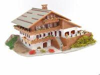 Faller Bergrestaurant Alpenblick mit Ausstattung Figuren BELEUCHTET Spur N D0670