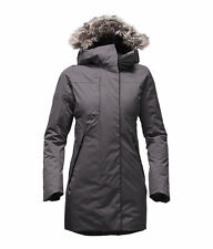 The North Face Women's FAR NORTHERN WATERPROOF PARKA Down Jacket Graphite Grey M