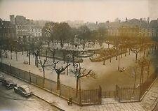 PARIS 1955 - Autos Square Louis-XIII  Place des Vosges en Hiver - PR 316