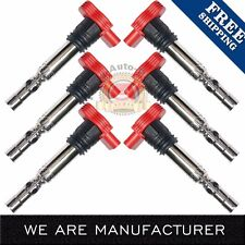 New Ignition coil 6 Pack for Audi A4 A6 Quattro 3.0L V6 UF483 C1471 5C1470