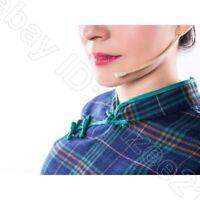 Tan Headset Microphone for Sennheiser Wireless Bodypack Transmitter Mic System