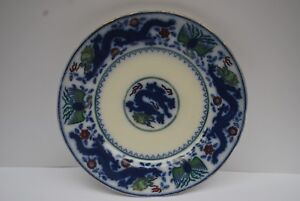 Antique Minton Chinese Dragon and Bird Plate    #3003