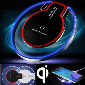Wireless Charger Charging Pad Receiver F iPhone XR 11 Pro 8 Samsung Note 20 S20+