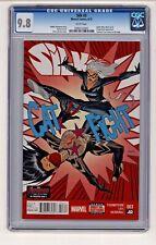 Marvel's Silk #3 Dave Johnson Cover CGC 9.8