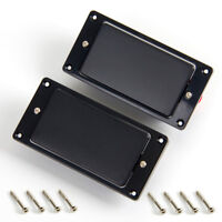 Humbucker Neck Bridge Pickup Set for Guitar Parts Replacement Black Sealed