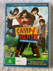 Camp Rock Disney DVD R4 Australian Release