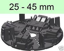 32 Stelzlager, 25.45mm, höhenverstellbar, Plattenlager, Terrassenlager ,,