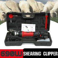 690W 220V High Powered Electric Shearing Clipper Animal Sheep Goat Far