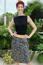 NEW Black & White Print Skirt by Old Navy~Size 6~Drop Dead Gorgeous~NWOT